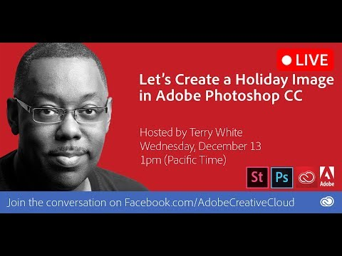 How to Create a Holiday Image in Adobe Photoshop CC