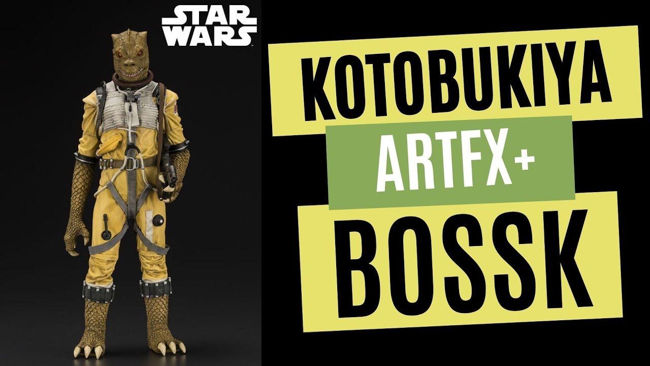 Star Wars Kotobukiya Artfx Bossk Bounty Hunter 1 10 Scale Statue