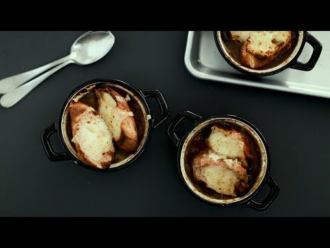 The Best Technique For Rich And Flavorful French Onion Soup- Kitchen Conundrums With Thomas Joseph