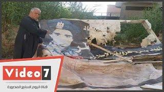 بالفيديو... قصة إزالة  وتحطيم لافتة تحمل اسم الشهيد سليمان خاطر بالشرقية