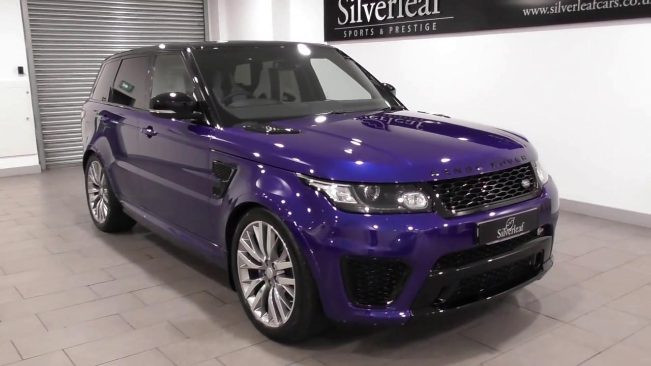 Range Rover Sport Svr 2018 >> RANGE ROVER SPORT V8 SVR - YouTube