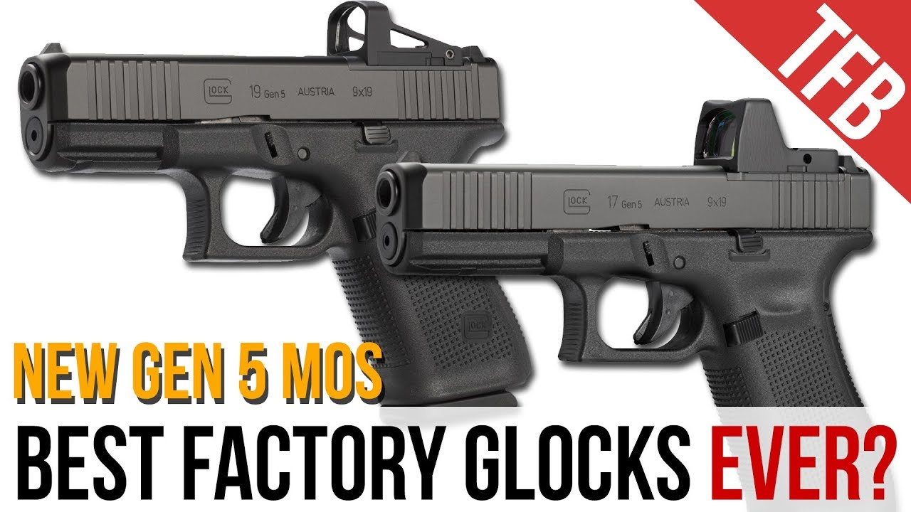 Did Glock Just Perfect the G19 and G17? The NEW G19 and G17 MOS!