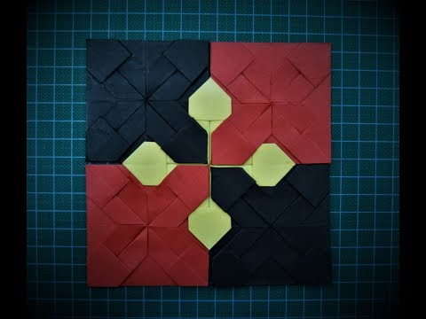 How to Make Paper Quilt || Paper coasters