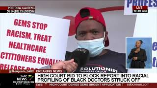 Medical Aid | High Court bid to block report into racial profiling of black doctors struck off