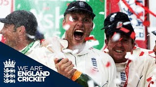 The Moment England Won The 2005 Ashes