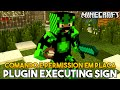Minecraft Plugin Tutorial Executing Signs - Comando e Permission em Placa