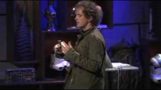 Yves Behar: Designing objects that tell stories(http://www.ted.com Designer Yves Behar digs up his creative roots to discuss some of the iconic objects he's created (the Leaf lamp, the Jawbone headset)., 2008-05-21T21:53:58.000Z)