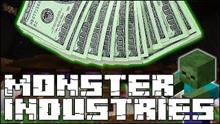I WORK FOR PRESTON NOW!? (Monster Industries w/Vikk and Preston)