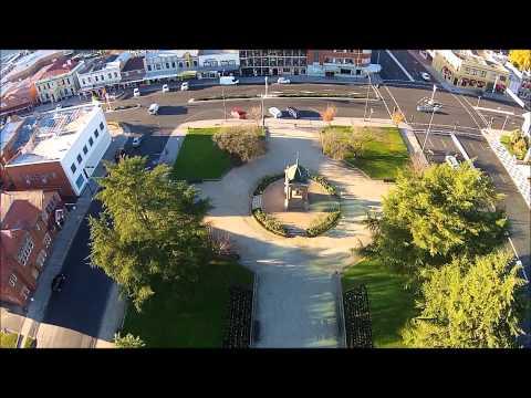 Kings Parade Bathurst NSW Australia, filmed by Sky Eye UAV Solutions