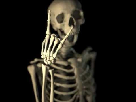 Skeleton Laughing Youtube