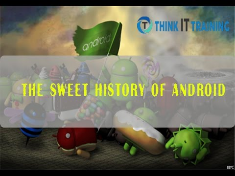 From Cupcake to Marshmallow The Sweet history of Android | Think IT