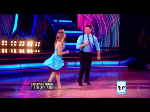 Dancing with the Stars 19  Jonathan Bennett & Allison  LIVE 91514