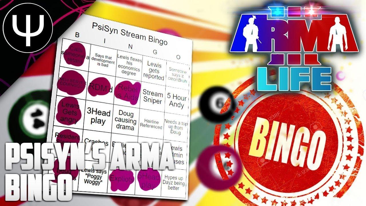ARMA 3: Kamdan Life Mod — PsiSyn's ARMA BINGO (I WON)!
