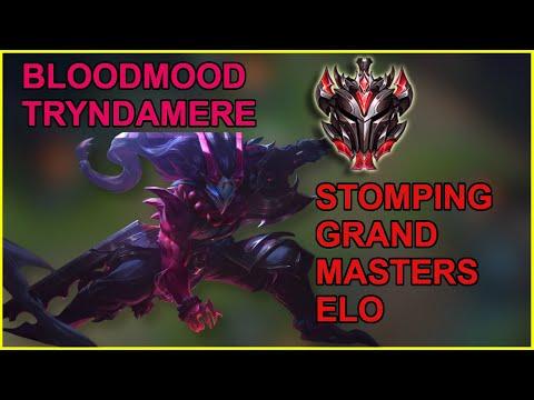 Bloodmoon Tryndamere Skin Is So CLEAN - Grandmasters Mid Tryndamere