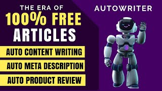 AI Article Writer - Write Quality Articles and Blog Posts Free