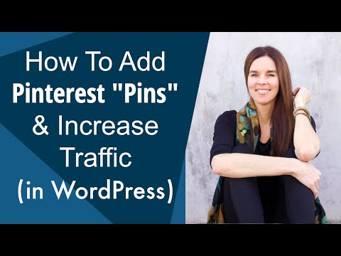 """How To Add Pinterest """"Pin It"""" Buttons To Increase Traffic (WordPress)"""