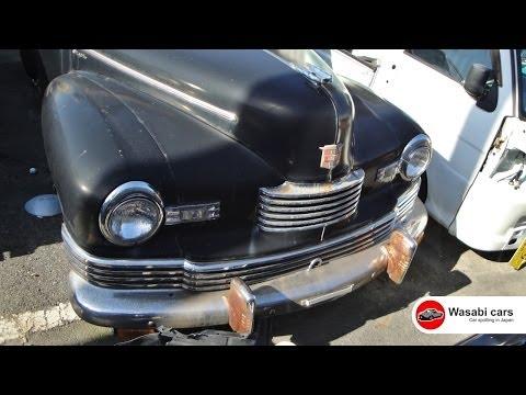Spotted In Japan: A RHD 1946 Nash Ambassador Super