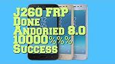 Samsung J2 Core SM J260G FRP Unlock With Odin - YouTube