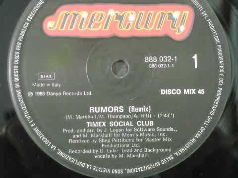 Timex Social Club - Rumors (Remix) 1986