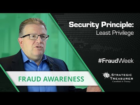 Security Principle: Least Privilege (Don't Share More Than Needed) - #FraudWeek
