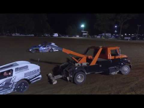 9/3/16 Lincoln Park Speedway Modified A Main - Drone Footage