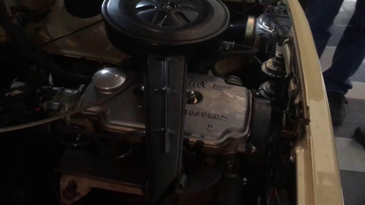 wartburg 353 mit 3 zylinder 4 takt motor prototyp start. Black Bedroom Furniture Sets. Home Design Ideas