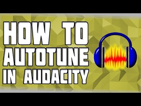 HOW TO ADD AUTOTUNE IN YOUR VOICE IN AUDACITY!!!??? (SO EASY)!!!