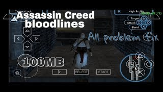 Assassin Creed Bloodlines Game Highly compressed 100 MB PSP Android || HD Gameplay || (Hindi)