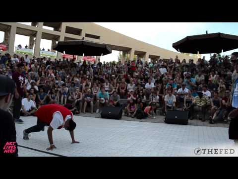Top 8 | Li Ying Lo X Tonga vs Post X Santi | Utah Arts Festival 2015