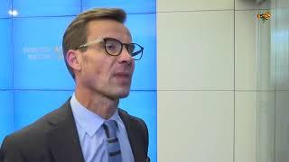 Ulf Kristersson inte skrämd av Dambergs flört