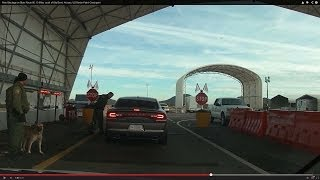 Alien Blockage on State Route 85, 19 Miles south of Gila Bend, Arizona, US Border Patrol Checkpoint