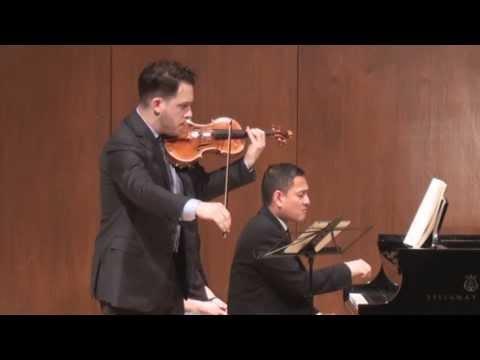 Giora Schmidt - Beethoven Violin Sonata No. 1 in D Major - with Victor Asuncion
