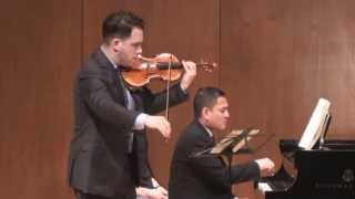 Giora Schmidt - Beethoven Violin Sonata No. 1 in D Major - with Victor Asuncion