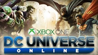 DC Universe Online-Part 1-Character Creation(Xbox One)