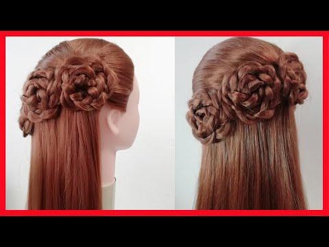 КРАСИВАЯ ОБЪЕМНАЯ ПРИЧЕСКА | Beautiful Hairstyles thumbnail