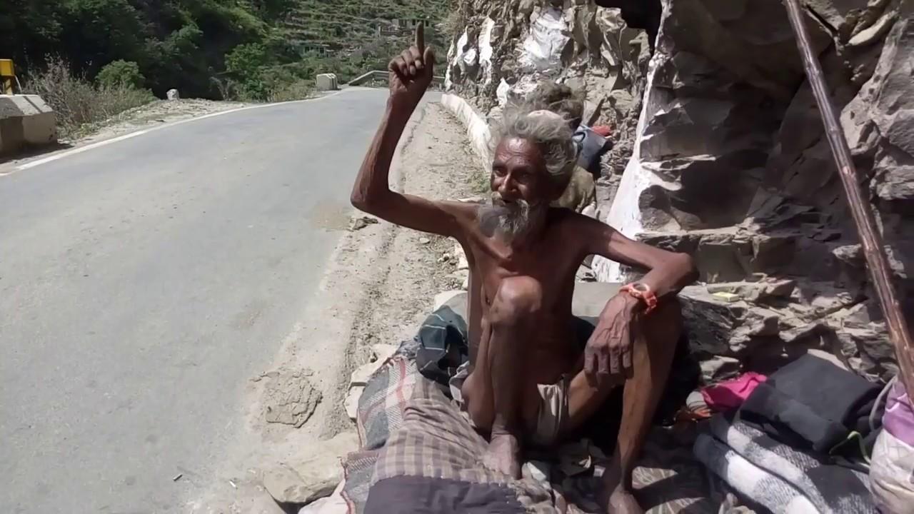 himalayan aghori, (Sadhu Baba) Himachal Pradesh, India - YouTube