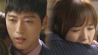 Nam Goong gives Minah a sweet hug