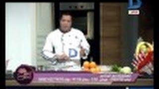 النص الحلو|مطبخ السي فوود ( بربوني مقلي بالسمسم ) + ( جمبري بالاناناس ) مع الشيف