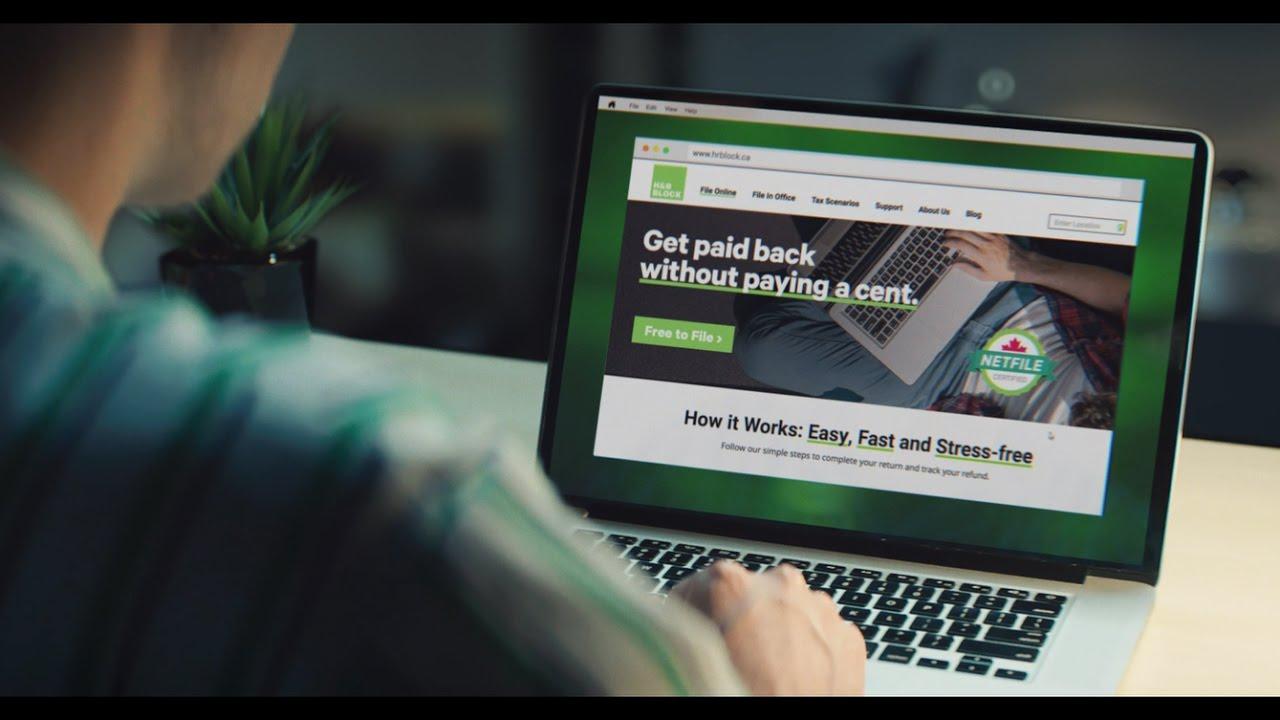 H&r Block Canada  Free Tax Software