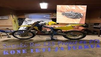 Suzuki Rm 125 Project#6 Kone irti ja Purkua Episode 2
