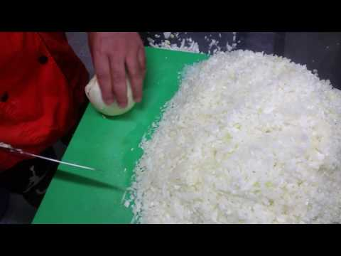 How to cut onion fast N easy