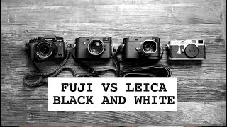 Fuji vs Leica, who does black and white best? Monochrome blind test