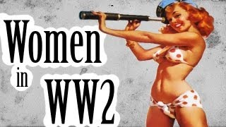 American Women in WW2 - U.S. Army Girls - It