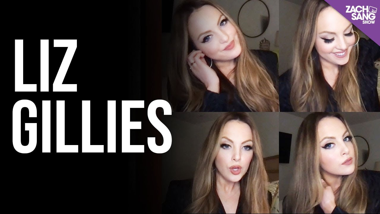 Liz Gillies Talks About Everything Other Than What She's Supposed To Talk About