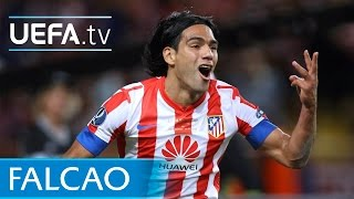 Radamel Falcao: See him score against Chelsea!