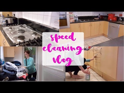 SPEED CLEANING VLOG | RELAXING MUSIC & VOICEOVER