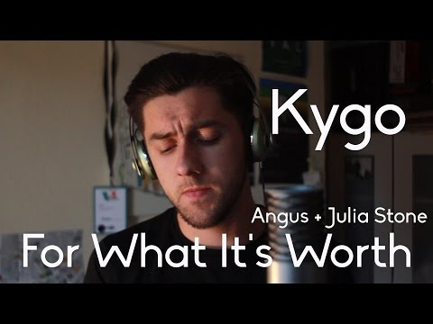 Kygo - For What Its Worth feat. Angus and Julia Stone Cover by Aaron Fleming