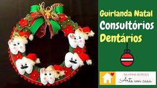Olha essa ideia – Guirlanda de Natal para Consultórios Dentários