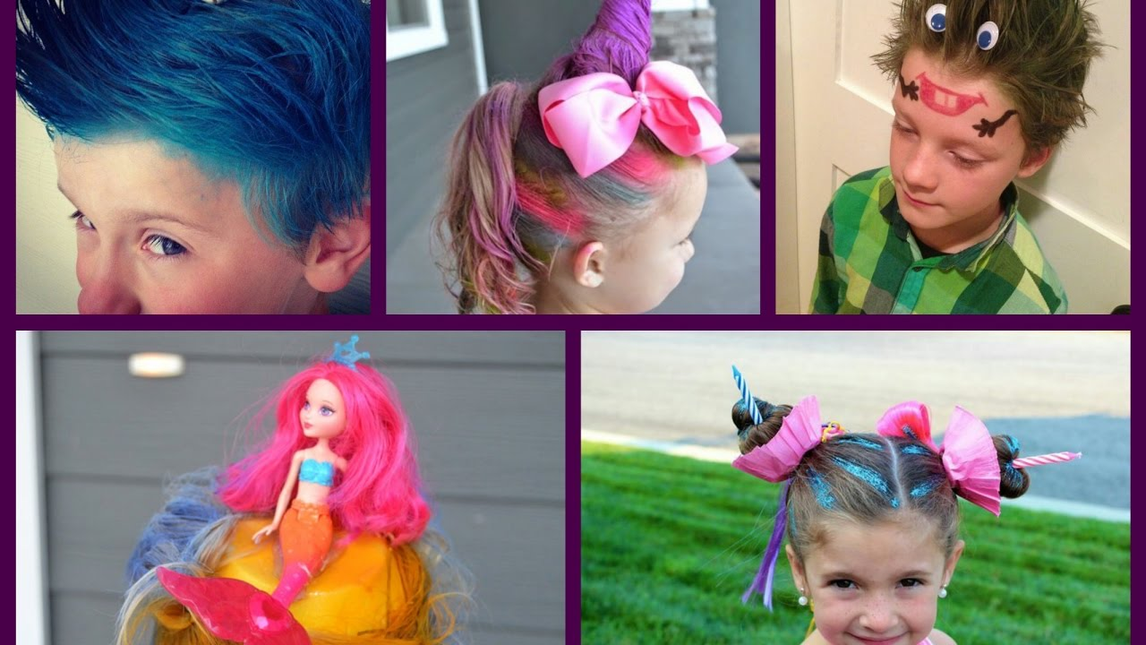 Crazy Hair Day at School - 30+ Best Ideas for Crazy Hair ...