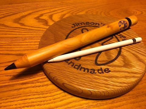 Woodturning an iPad Pro Pencil Case